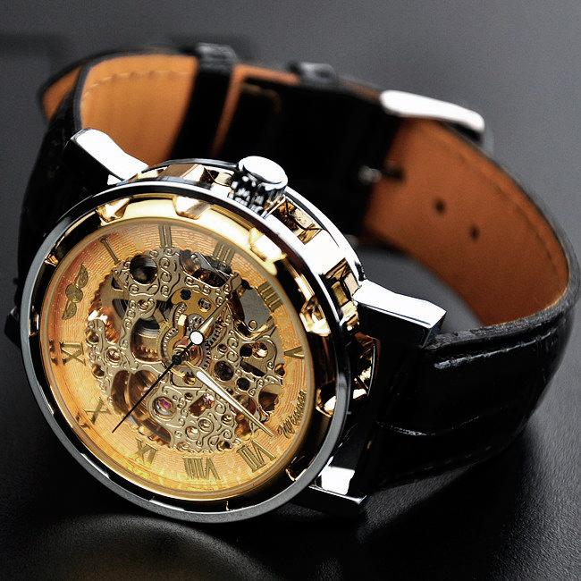 часы winner skeleton gold купить фирменный магазин обязательно